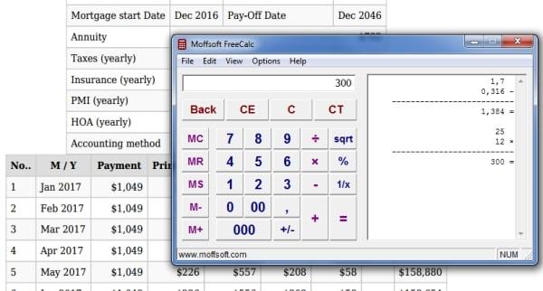 Loan Comparison Calculator with APR